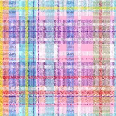 Pastel Plaid - Multi