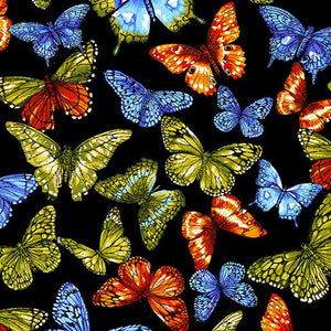 Butterfly Black/Multi