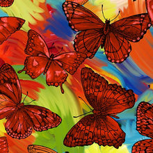 Load image into Gallery viewer, Butterfly Magic Orange/Multi