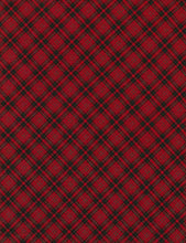 Load image into Gallery viewer, Holiday Bias Plaid Red