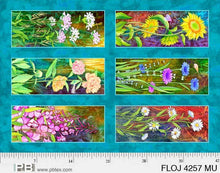 Load image into Gallery viewer, Flower Jewels Panel