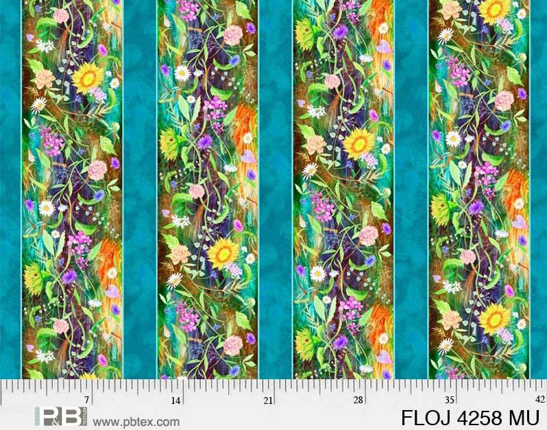 Flower Jewel Border