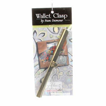 Load image into Gallery viewer, Wallwt Clasp Gold 71/2""