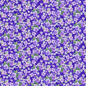 Large Floral - Purple