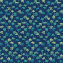 Load image into Gallery viewer, Oasis - Palm Trees - Navy