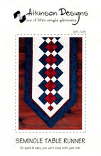 Load image into Gallery viewer, ATKD-SEMINOLE TABLE RUNNER