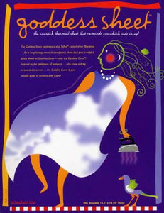 Pressing Goddess Sheet -