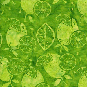 Island Batik - Sour Apple