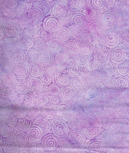 Island Batik - Circles, Purple