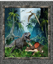 Load image into Gallery viewer, Jurassic Dinosaur Large Panel