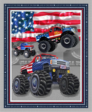 Load image into Gallery viewer, Monster Trucks Banner Panel