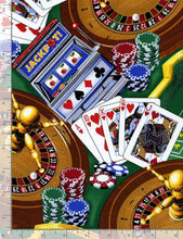 Load image into Gallery viewer, Timeless Treasures - Casino - Green