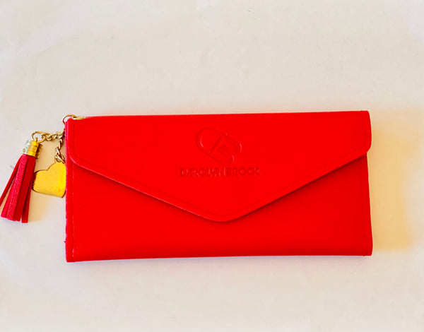 Jacqueline wallet with tassel