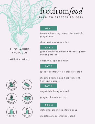 auto immune protocol package