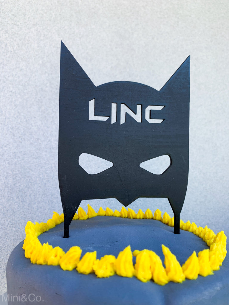 BATMAN HEAD + PERSONALISED