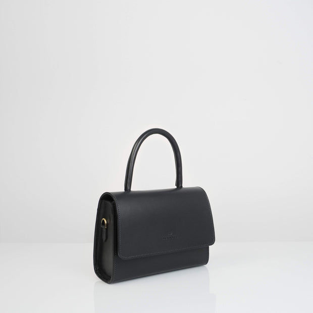 Almond Bag Mini Classic Black