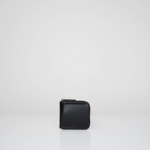 Wallet Glossy Black