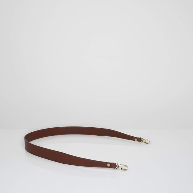 Non-adjustable Strap Classic Brown