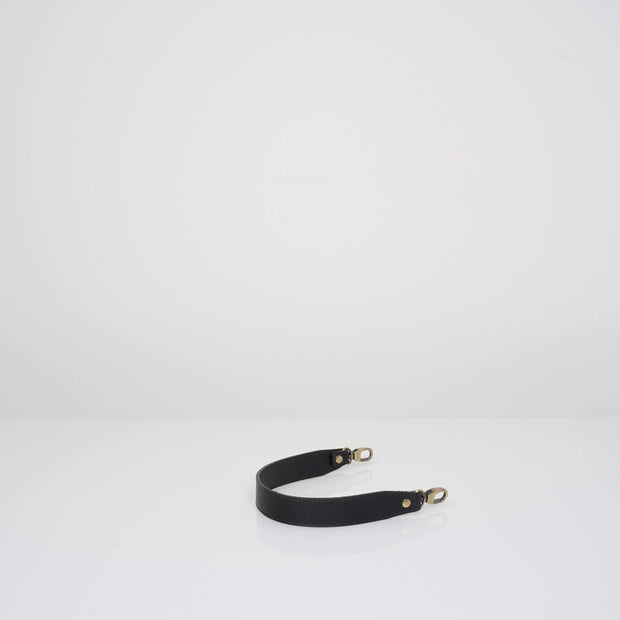 Leather Handle Classic Black