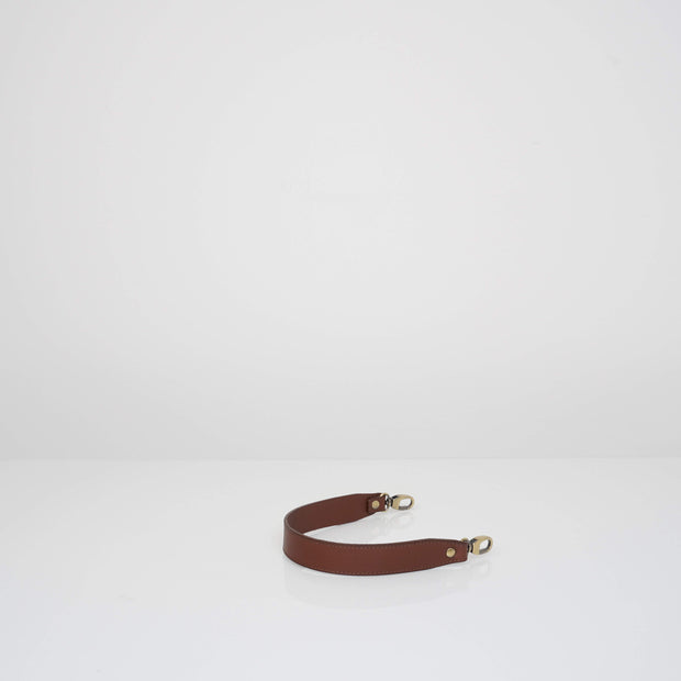 Leather Handle Classic Brown