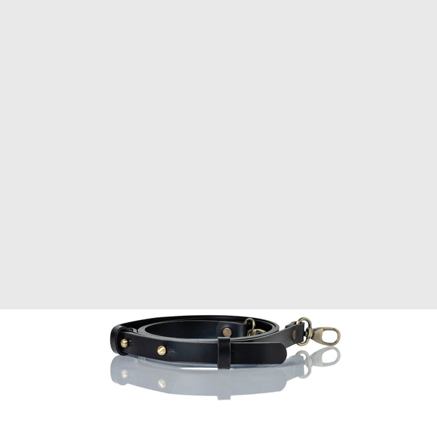 Narrow Waist Adjustable Belt Classic Black