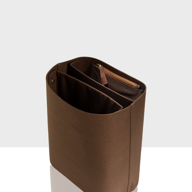 Inset Bucket / Backpack Brown