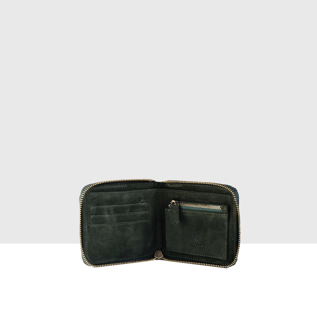 Wallet Bottle Green Croc