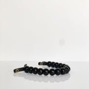 Beaded Handle Black