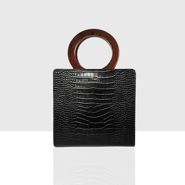 Paper Bag Vol. 2 Black Croc Glossy