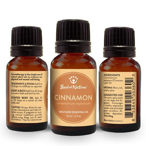 Best of Nature Cinnamon Leaf Essential Oil - LaShayAsante Beauty