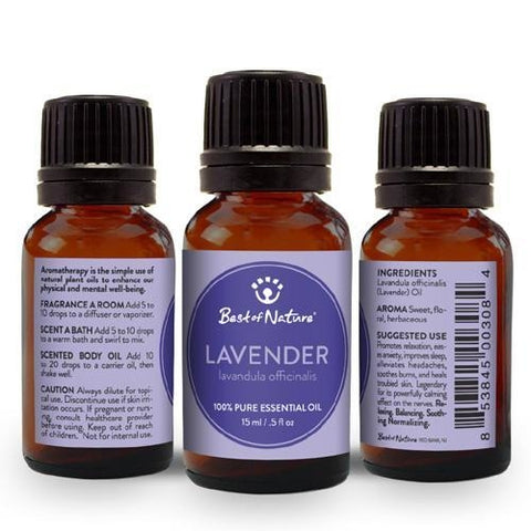Best of Nature Lavender Essential Oil