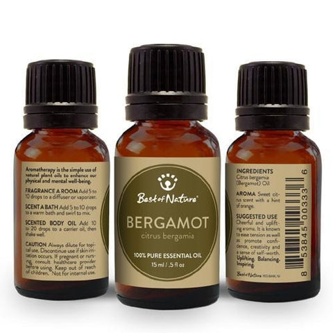 Best of Nature Bergamot Essential Oil - LaShayAsante Beauty