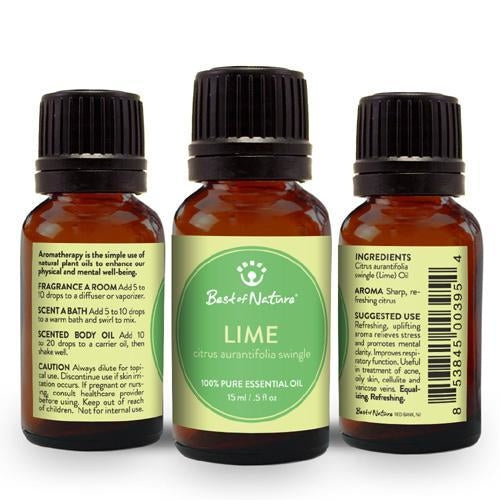 Best of Nature Lime Essential Oil - LaShayAsante Beauty