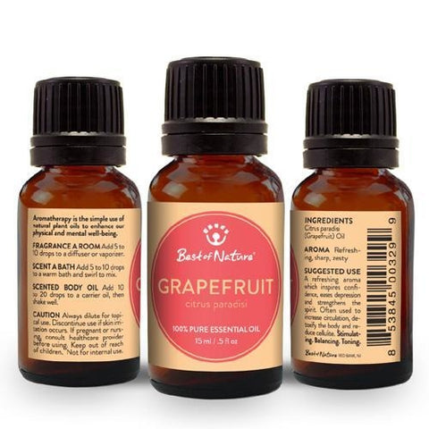 Best of Nature Grapefruit Essential Oil - LaShayAsante Beauty