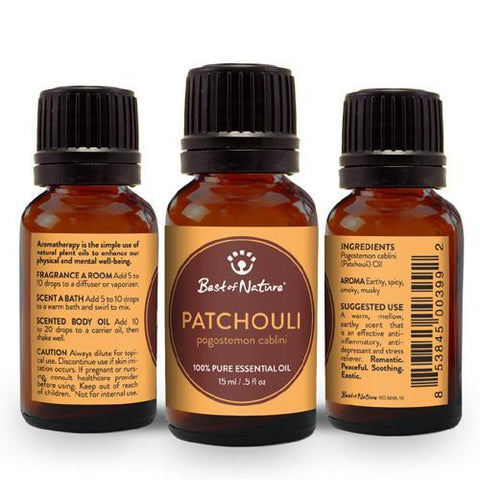 Best for Nature Patchouli Essential Oil - LaShayAsante Beauty