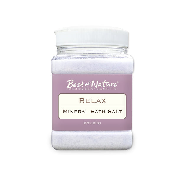Best of Nature Relax Mineral Bath Salt - LaShayAsante Beauty