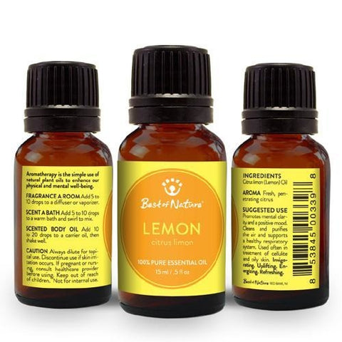 Best of Nature Lemon Essential Oil - LaShayAsante Beauty