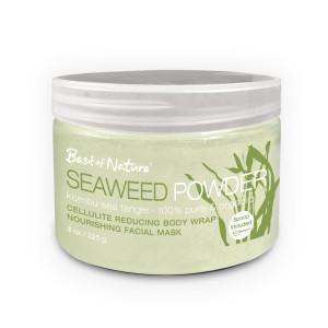 Best of Nature Seaweed Powder -Kombu Organic Facials & Body Wraps