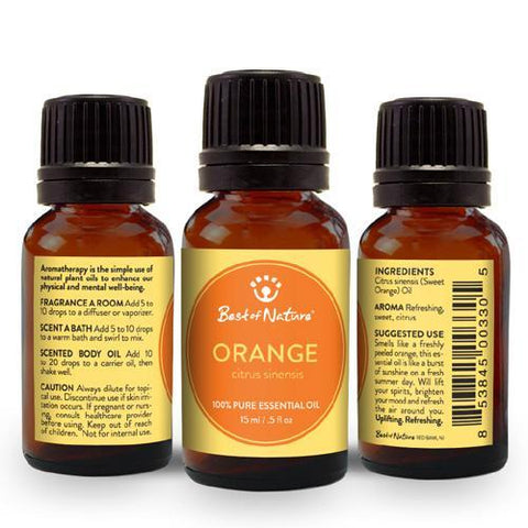 Best of Nature Sweet Orange Essential Oil - LaShayAsante Beauty