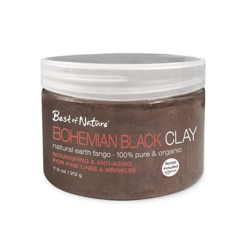 Best of Nature Bohemian Black Clay  - Natural Earth Fango