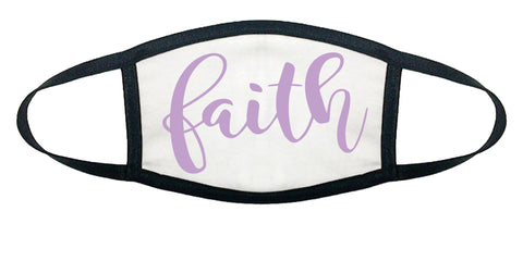 FAITH 100% COTTON FACE MASK