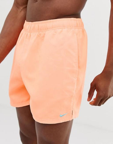 Light Orange swim shorts - LaShayAsante Beauty