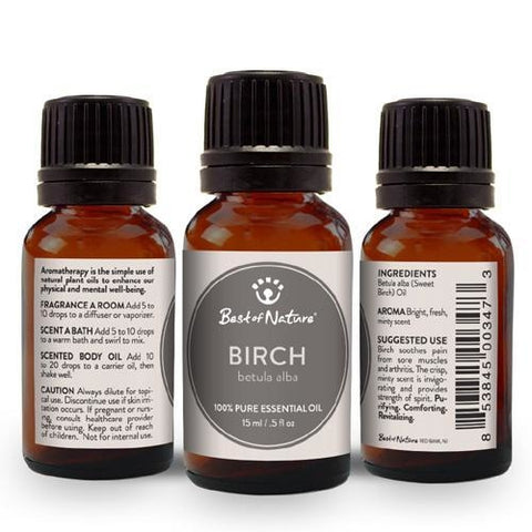 Best of Nature Sweet Birch Essential Oil - LaShayAsante Beauty