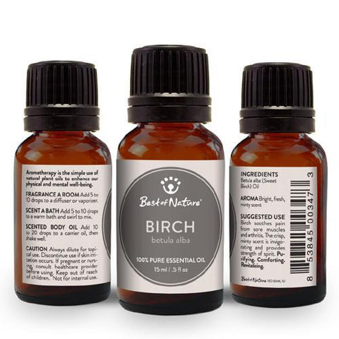 Best of Nature Sweet Birch Essential Oil