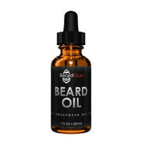 BeardGuru Premium Beard Oil:  Unscented - LaShayAsante Beauty