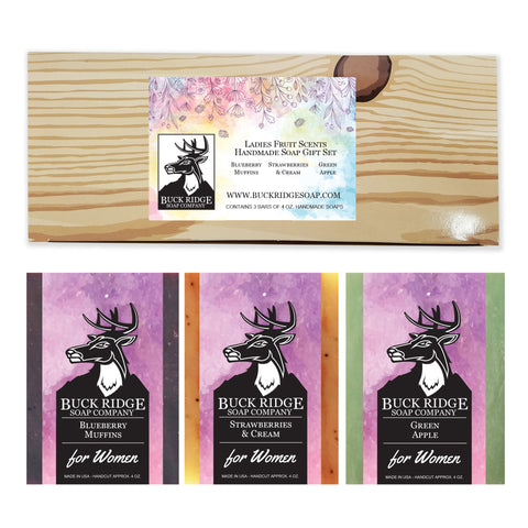 Buck Ridge Ladie's Fruit Scented Soap Gift Set - LaShayAsante Beauty