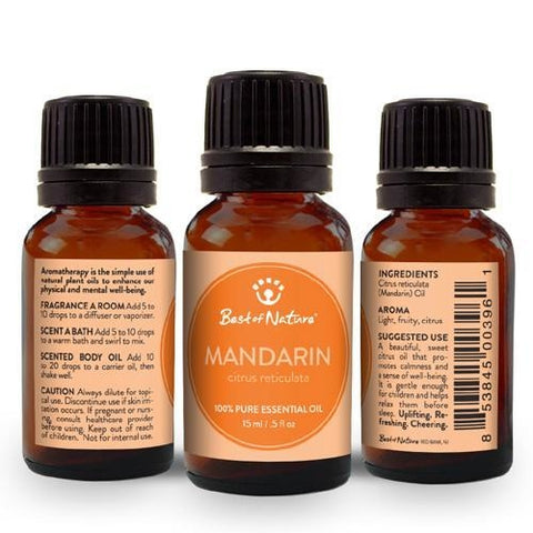 Best of Nature Mandarin Essential Oil - LaShayAsante Beauty