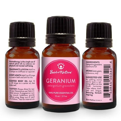 Best of Nature Geranium Essential Oil - LaShayAsante Beauty
