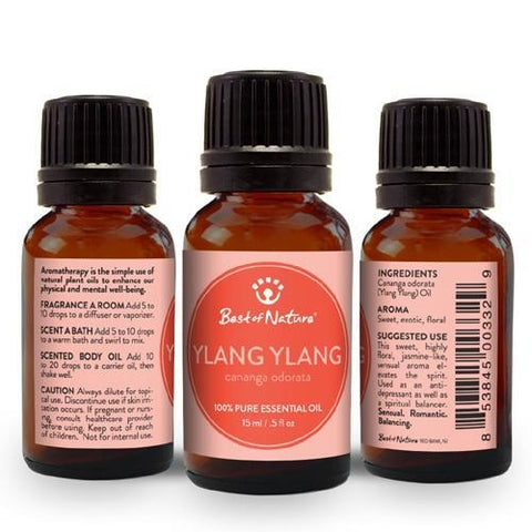 Best of Nature Ylang Ylang Essential Oil - LaShayAsante Beauty