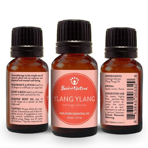 Best of Nature Ylang Ylang Essential Oil